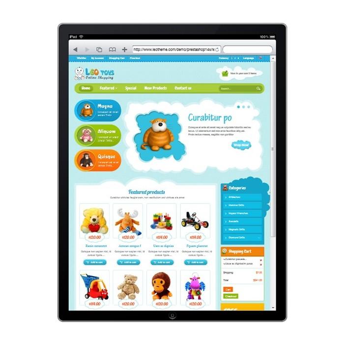 theme - Crianças & Brinquedos - Leo Toys - 2