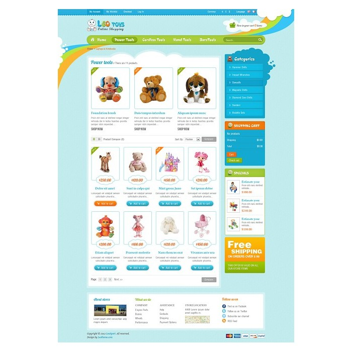 theme - Crianças & Brinquedos - Leo Toys - 4