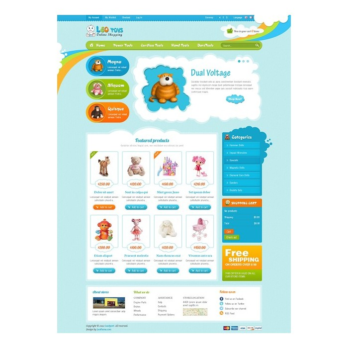 theme - Crianças & Brinquedos - Leo Toys - 5