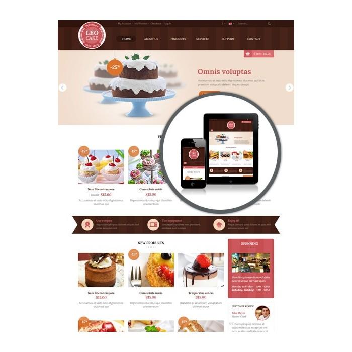 theme - Lebensmittel & Restaurants - Leo Cake - 1