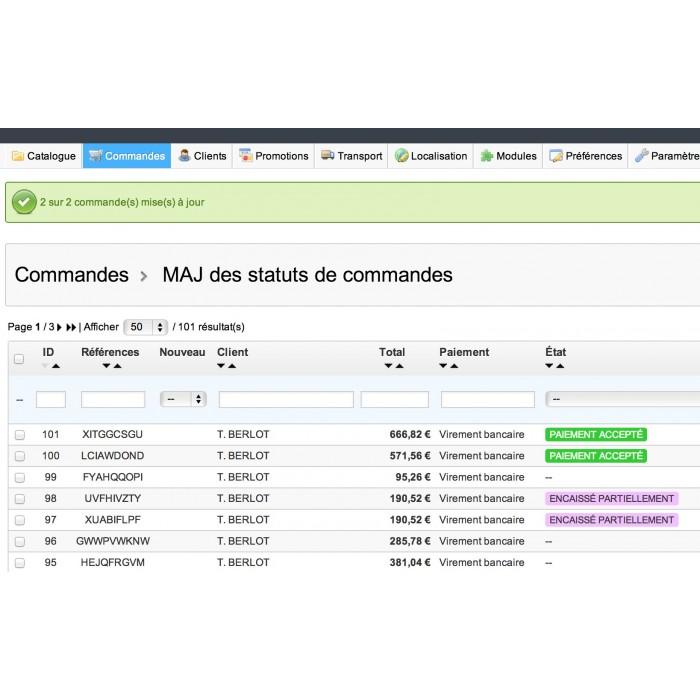 module - Edição rápida & em massa - Mass Order Status Update - 6