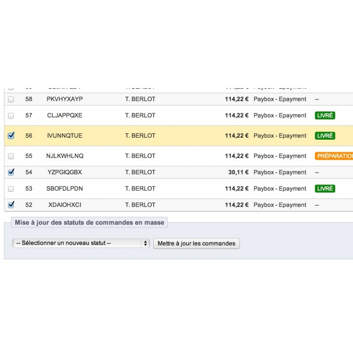 module - Edição rápida & em massa - Mass Order Status Update - 11