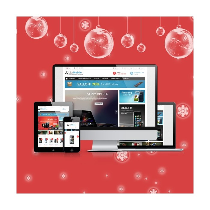 theme - Elektronica & High Tech - Leo Mobile - 1