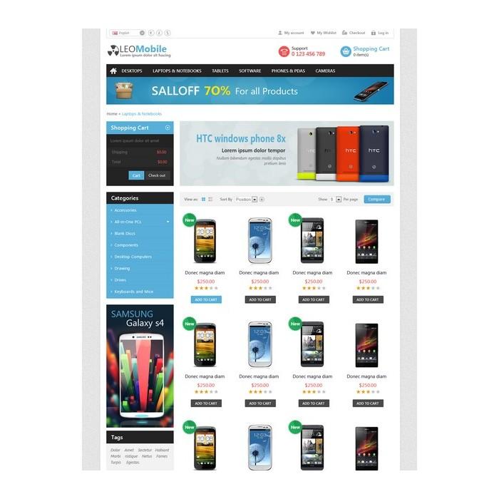 theme - Electronique & High Tech - Leo Mobile - 5