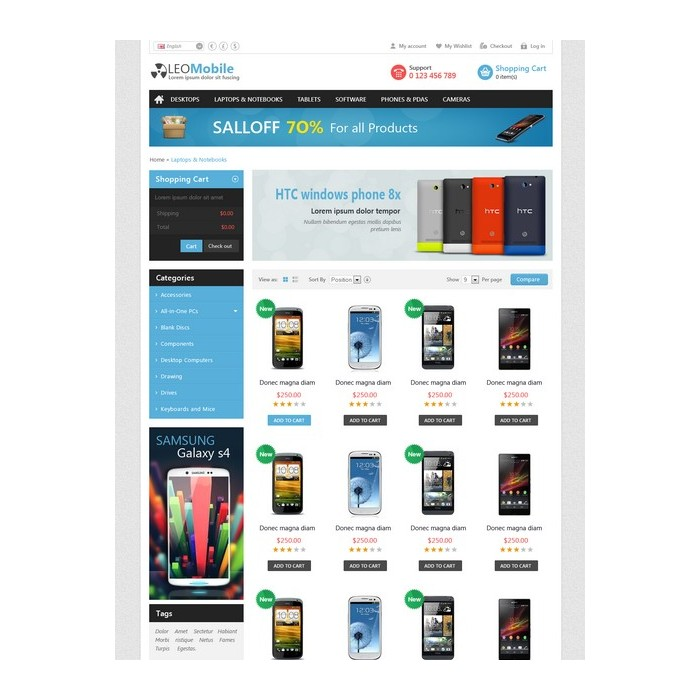 theme - Elektronica & High Tech - Leo Mobile - 5