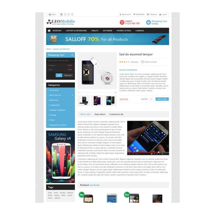 theme - Electrónica e High Tech - Leo Mobile - 6