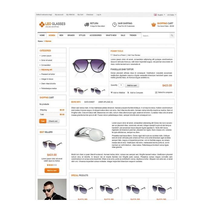theme - Bijoux & Accessoires - Leo Glasses - 6
