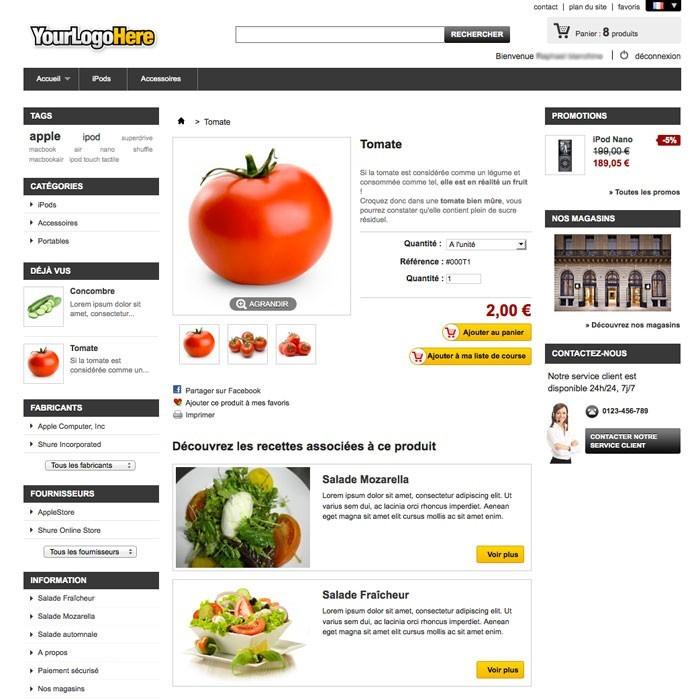 module - Eten & Restaurant - Cookbook - 1