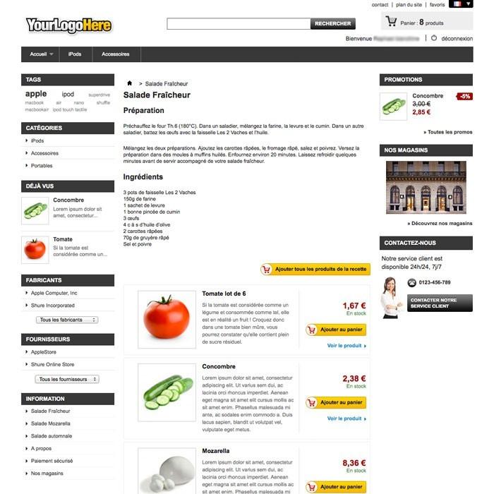 module - Eten & Restaurant - Cookbook - 2