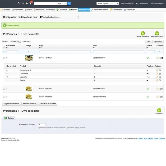 module - Gastronomía y Restaurantes - Cookbook - 4