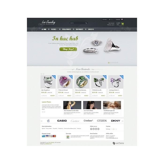 theme - Bellezza & Gioielli - Leo Jewelry - 2