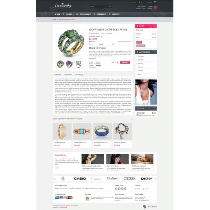 theme - Bellezza & Gioielli - Leo Jewelry - 5