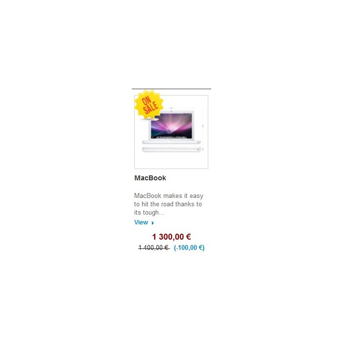 module - Gestión de Precios - Homepage Special strikethrough price / random display - 3