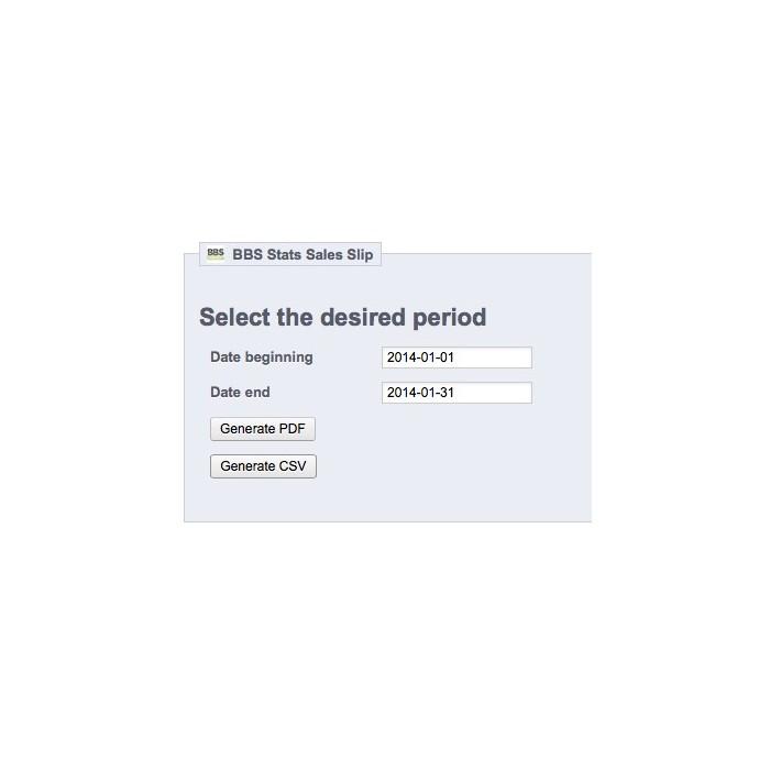 module - Import & Export de données - Bordereau de Recette Export PDF & CSV - 5