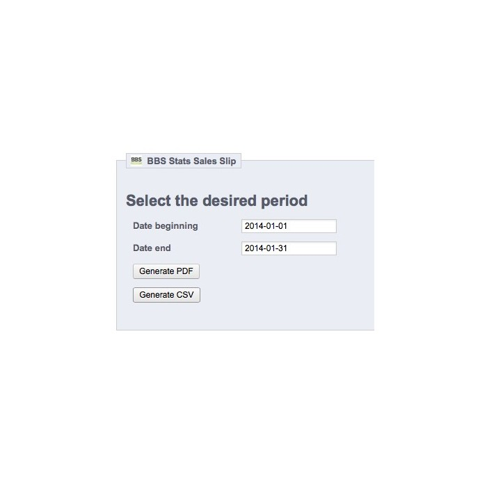 module - Import & Eksport danych (csv, pdf...) - Sales Slip Export PDF & CSV - 5
