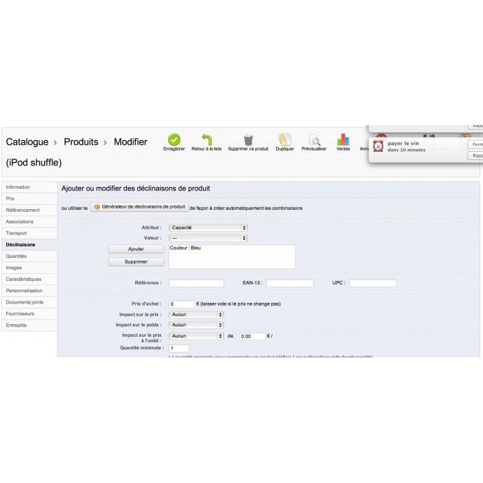 module - Zarządzanie zapasami &  Dostawcy - EAN and UPC codes Generator - 6