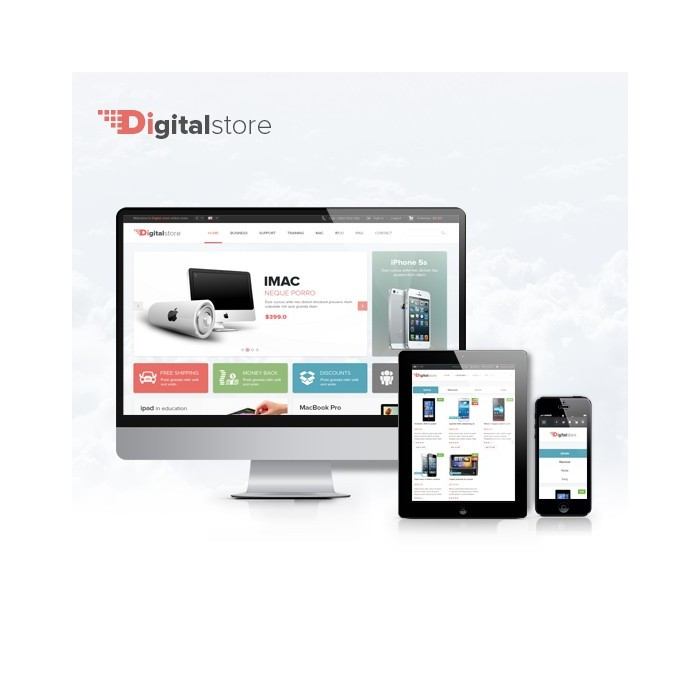 theme - Eletrônicos & High Tech - Leo Digital Store - 1