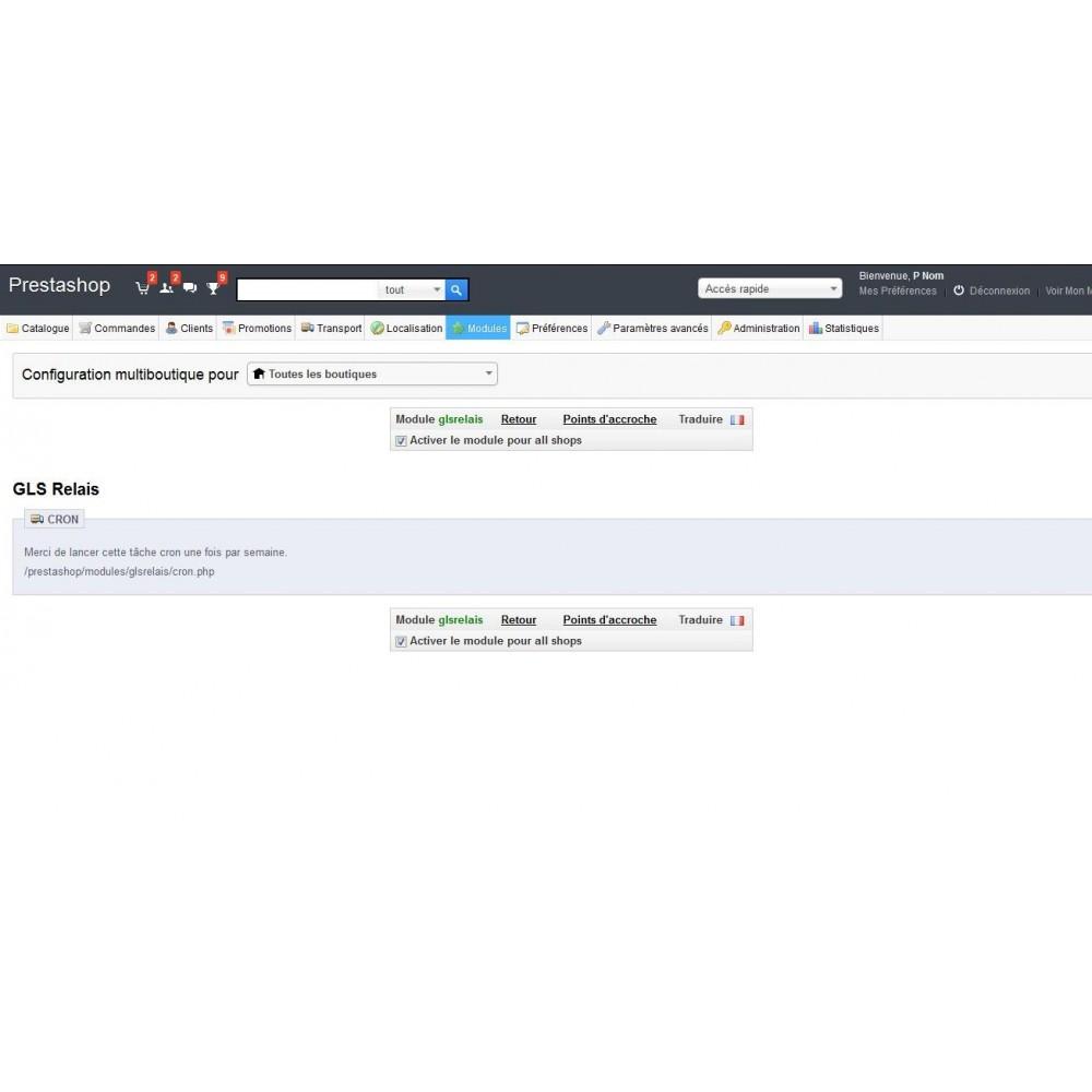 module - Пункты выдачи и Получение в магазине - GLS Relay - 2