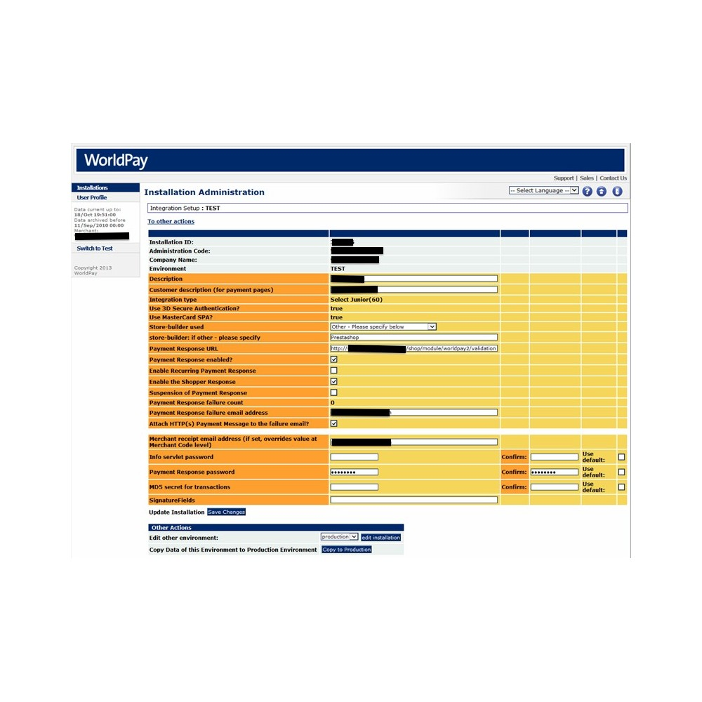 module - Zahlung per Kreditkarte oder Wallet - WorldPay - 11