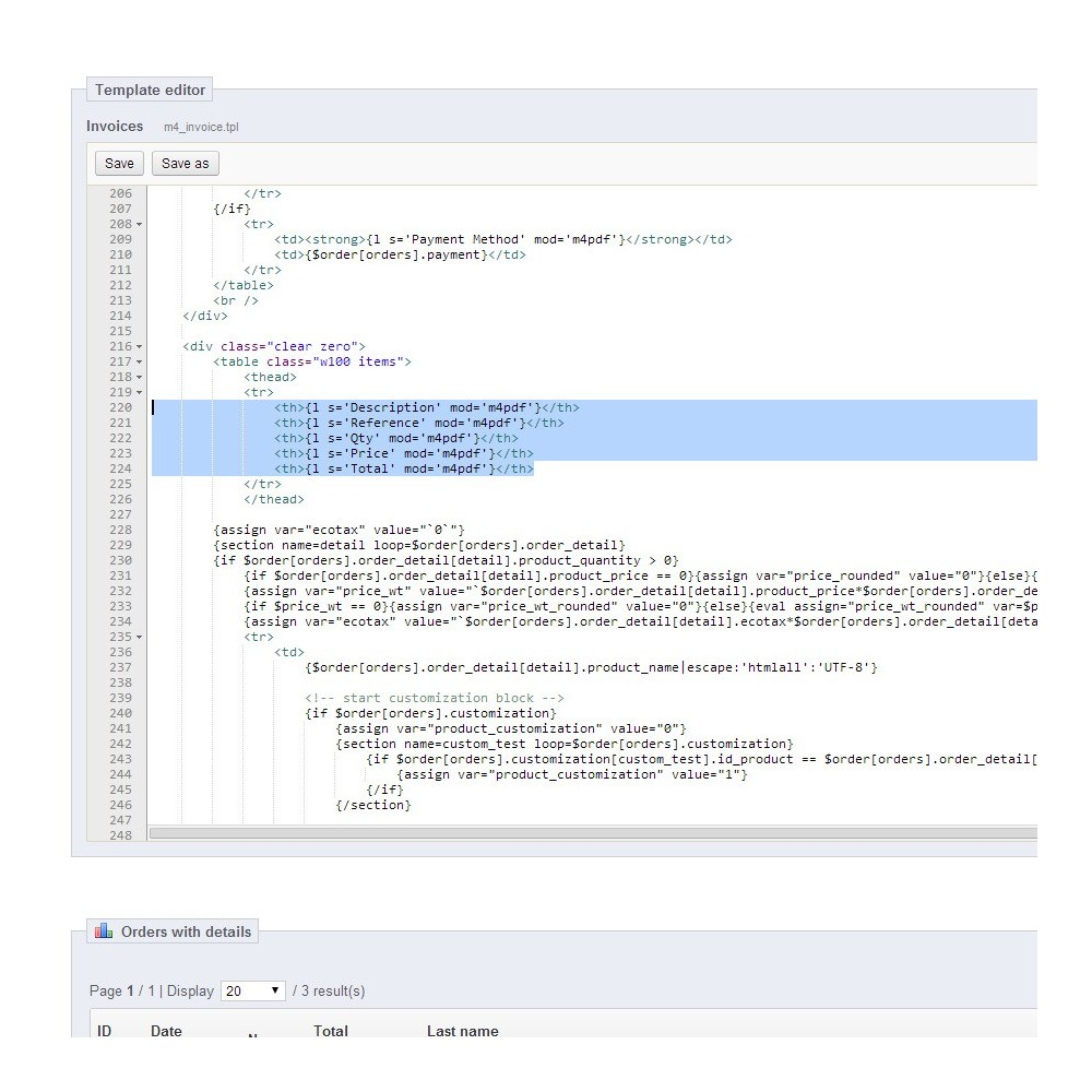 module - Data Import & Export - M4 PDF Extensions - 8