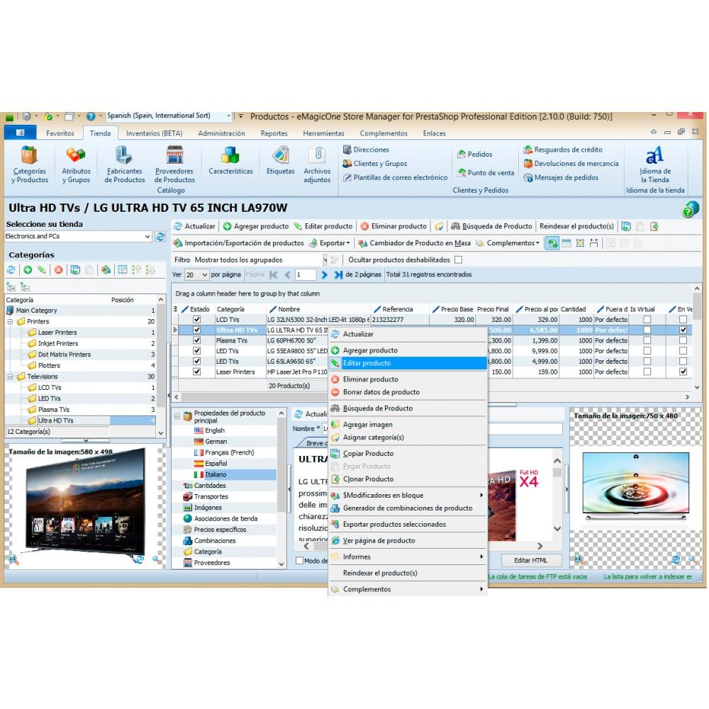 service - Integrazione (CRM, ERP...) - Store Manager for PrestaShop - 2