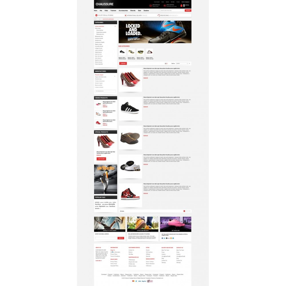 theme - Moda & Obuwie - Shoes Store Responsive PrestaShop Theme - ET Chaussure - 7