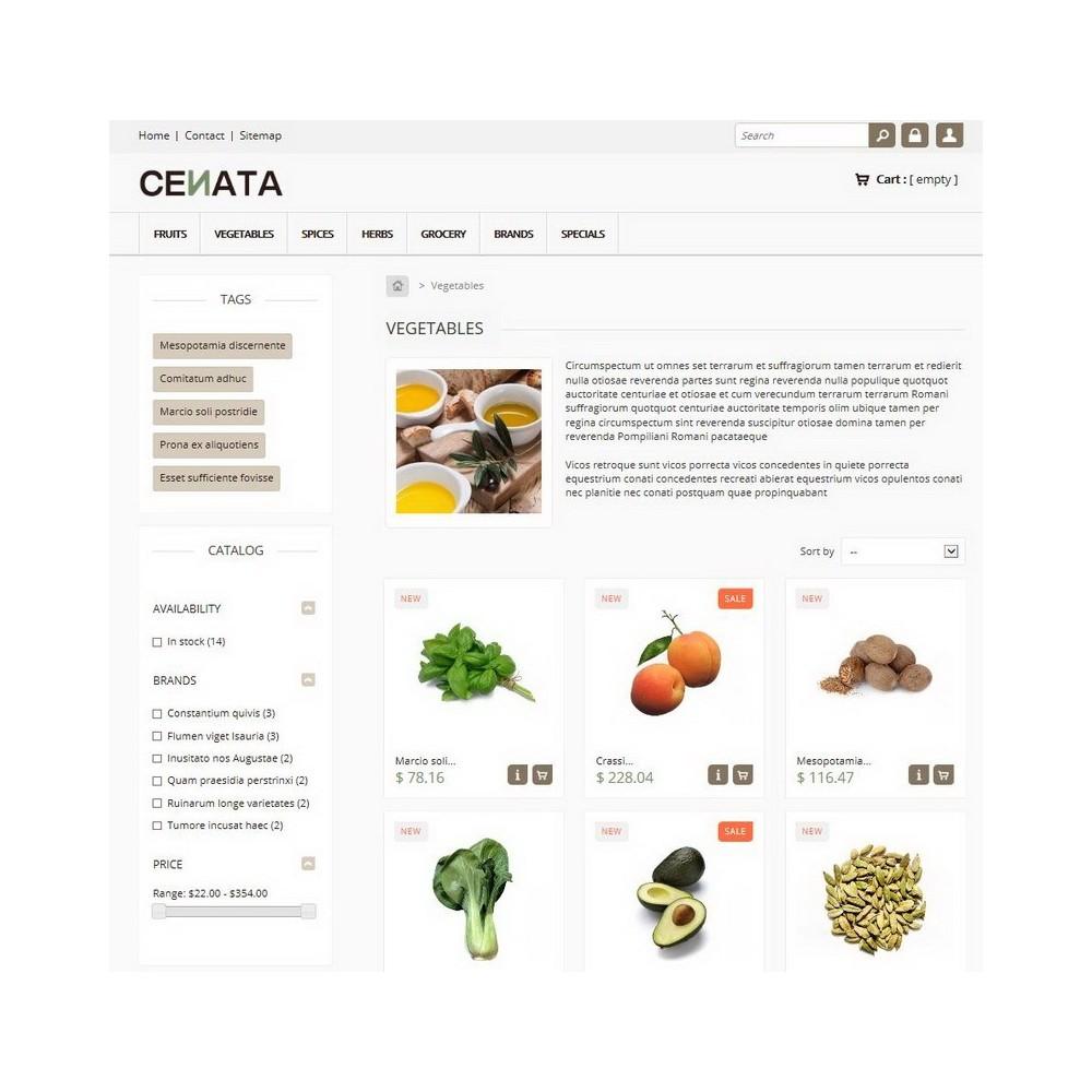 theme - Gastronomía y Restauración - Cenata - 2