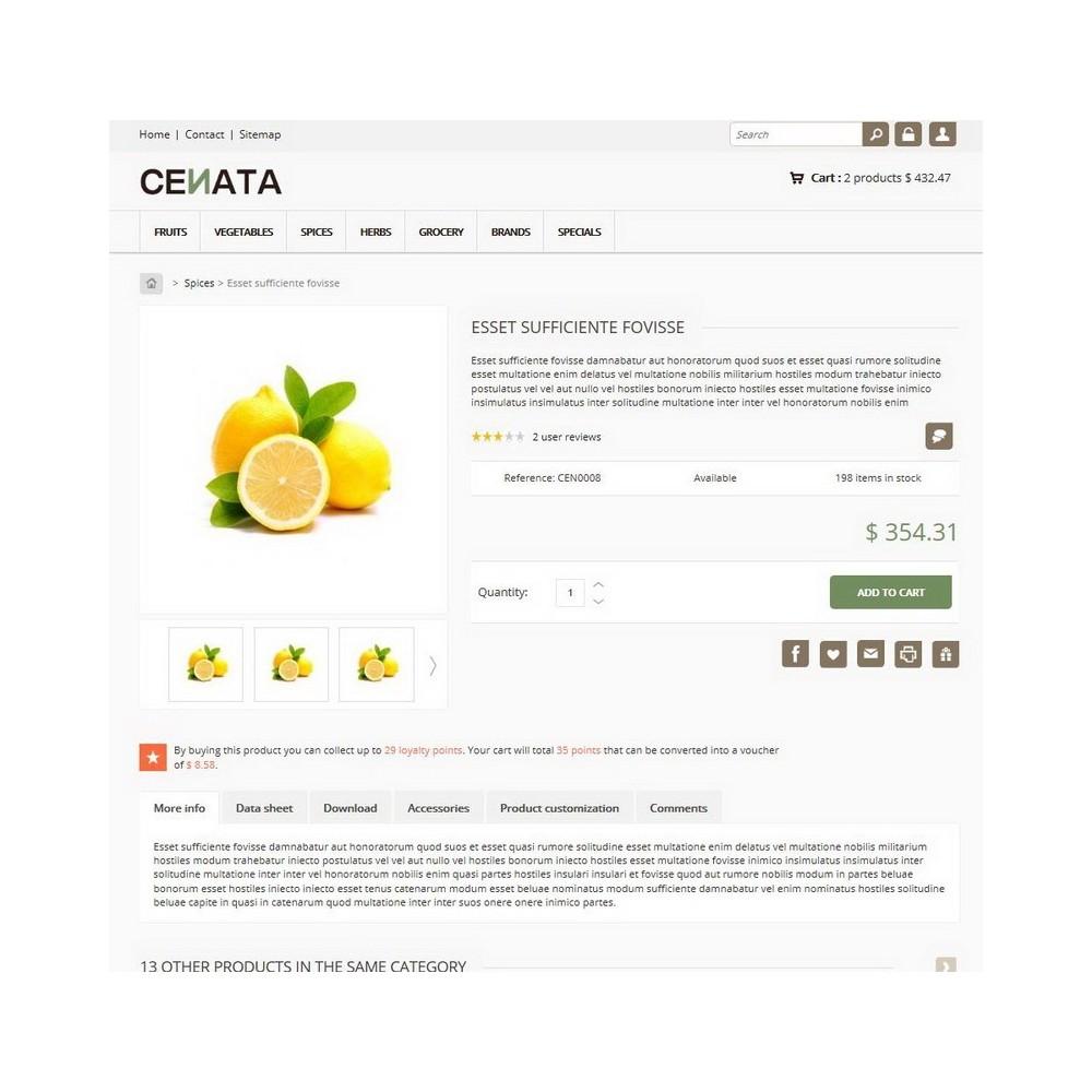 theme - Gastronomía y Restauración - Cenata - 3