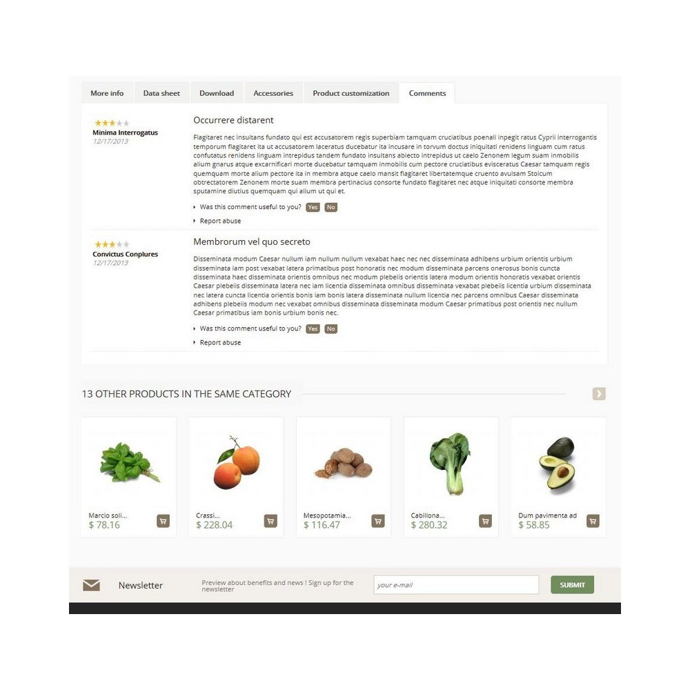 theme - Żywność & Restauracje - Cenata - 4