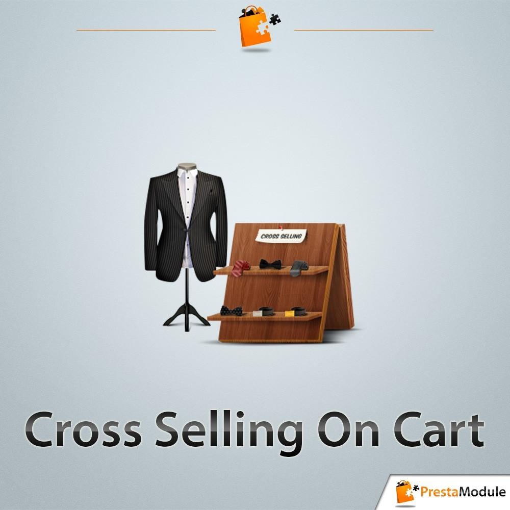 module - Vendas cruzadas & Pacotes de produtos - Cross Selling on Cart - Vendas cruzadas (cross-selling) - 1