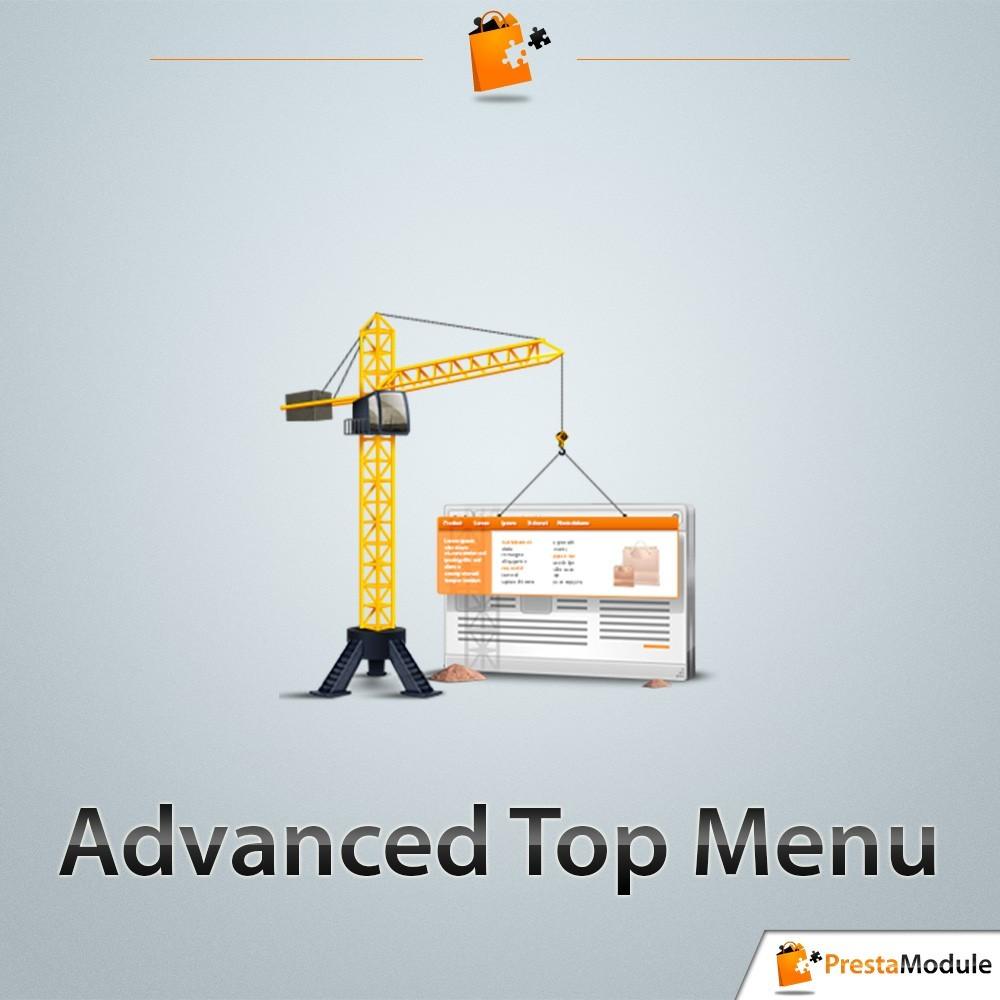 module - Menu - Advanced Top Menu - Responsive-menu - 1