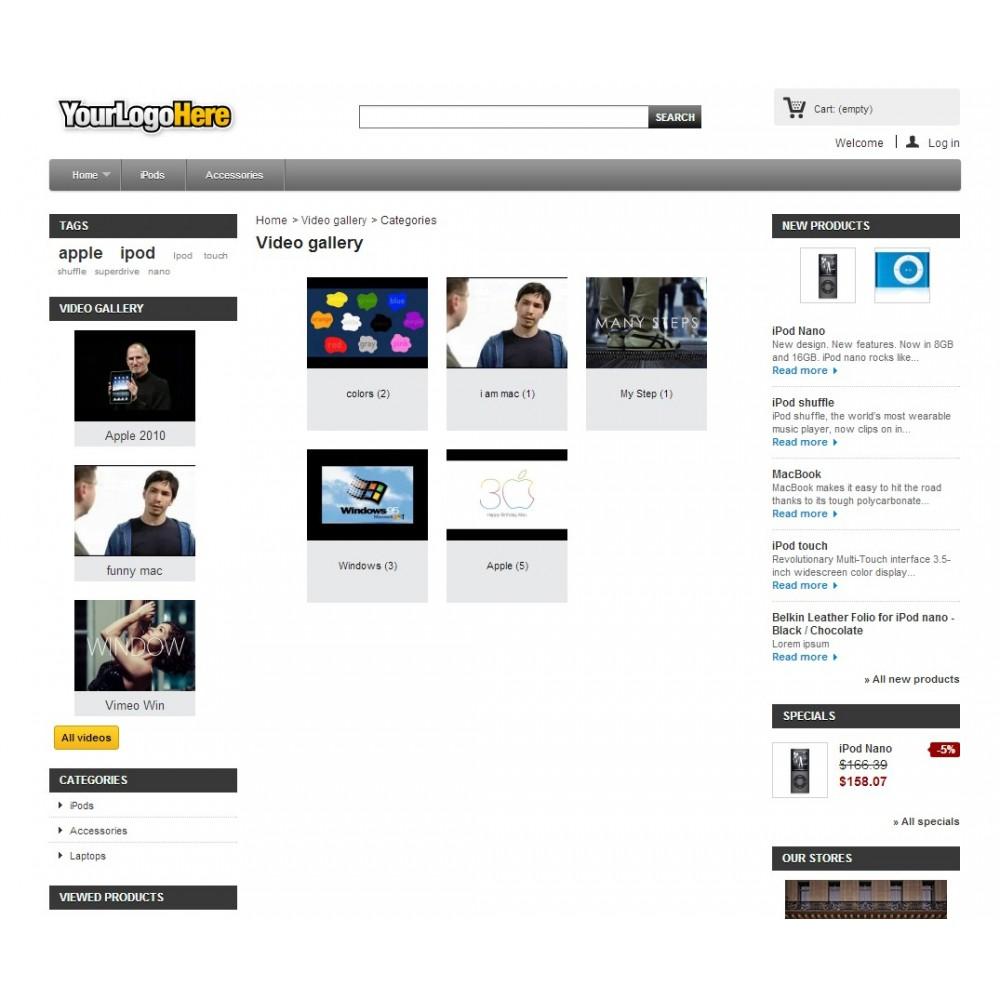 module - Vidéo & Musique - Video gallery - 1