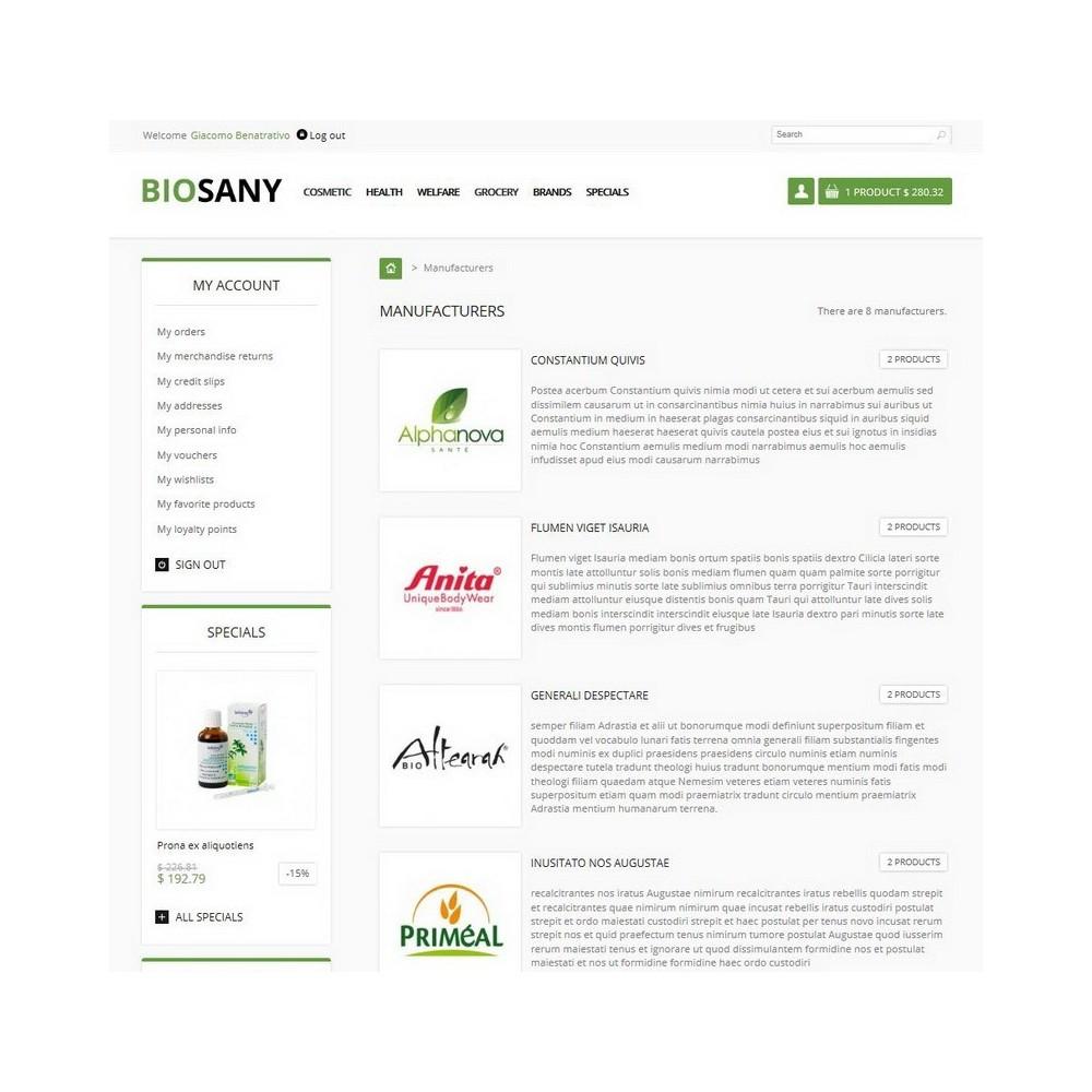 theme - Health & Beauty - Biosany - 6