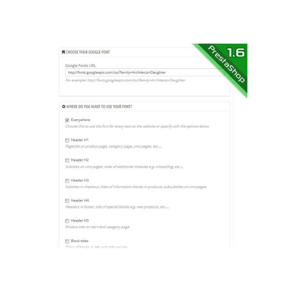 module - Individuelle Seitengestaltung - Google Fonts - 4