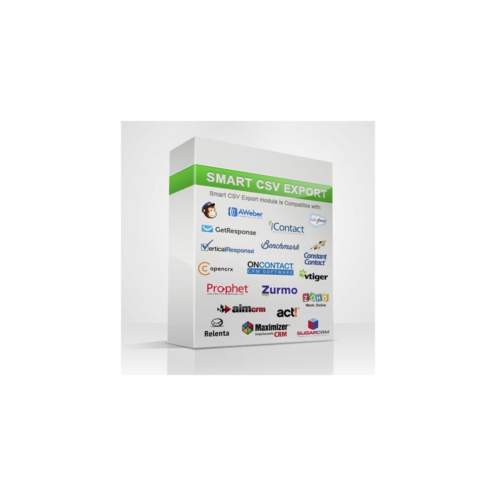 module - Importación y Exportación de datos - Listas CSV - Exportar clientes - 9