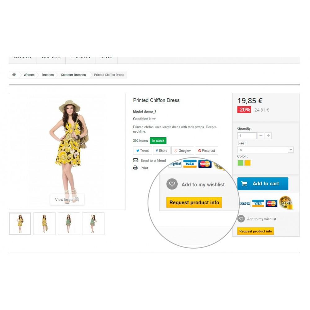 module - Formulaires de Contact & Sondages - Request Product Info - 4