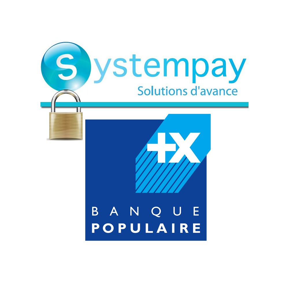 module - Creditcardbetaling of Walletbetaling - Banque Populaire - SystemPay - 1