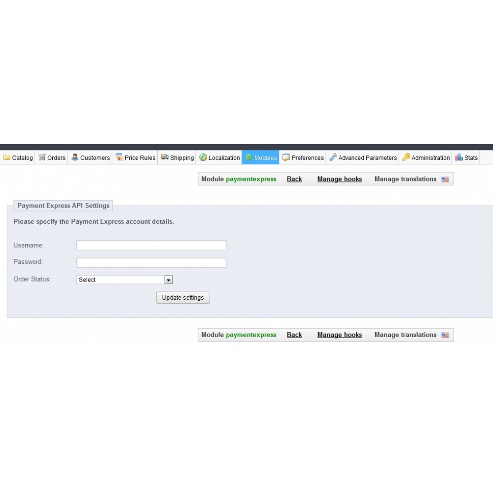 module - Creditcardbetaling of Walletbetaling - Payment Express Payment Gateway - 2