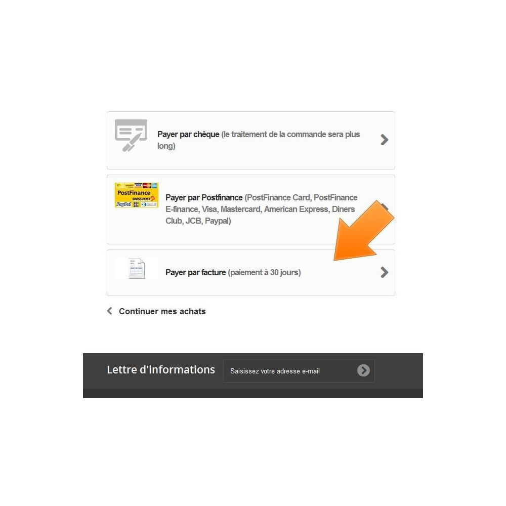 module - Paiement par Facture - Paiement par facture - 2