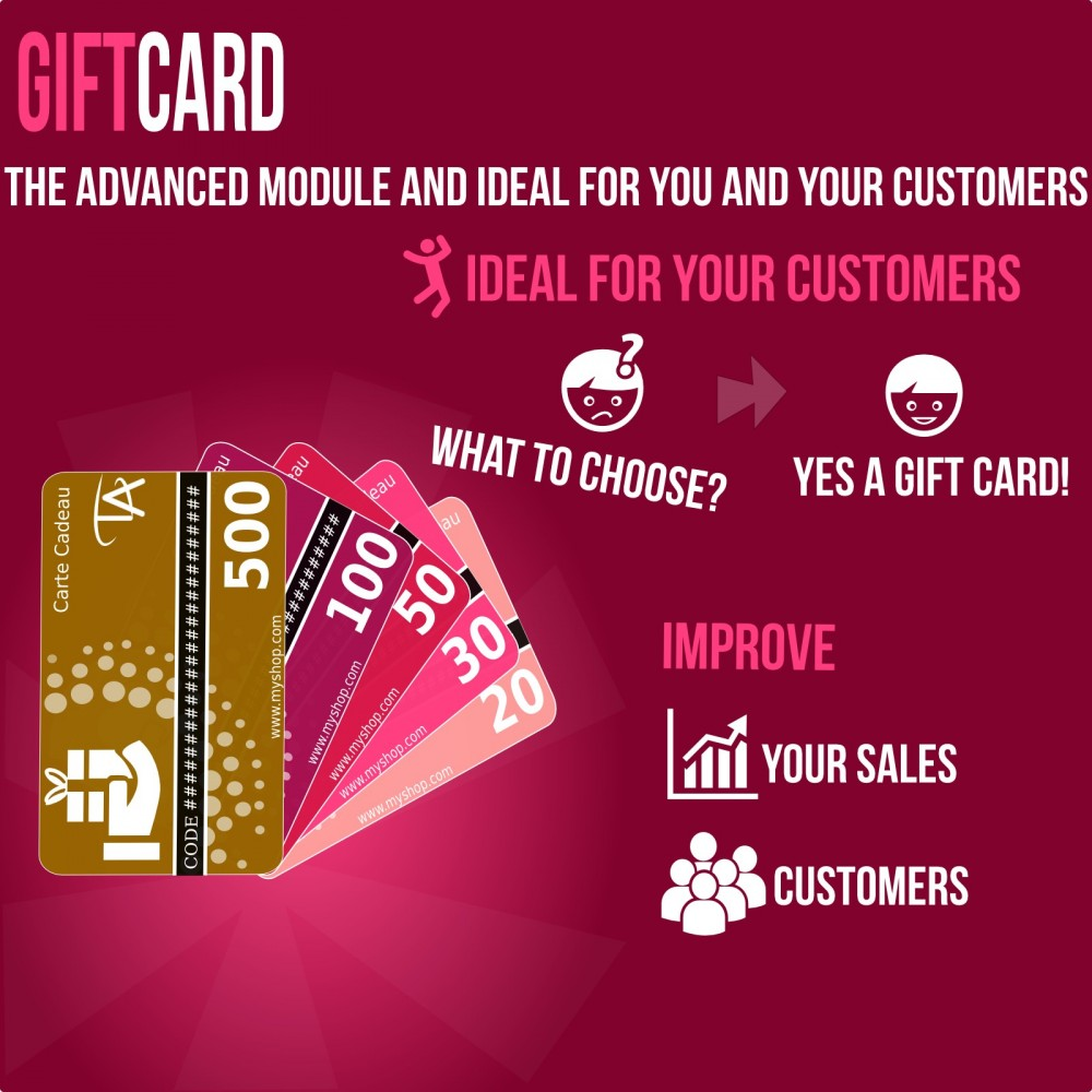 module - Wunschzettel & Geschenkkarte - Gift Card - Advanced solution - 1