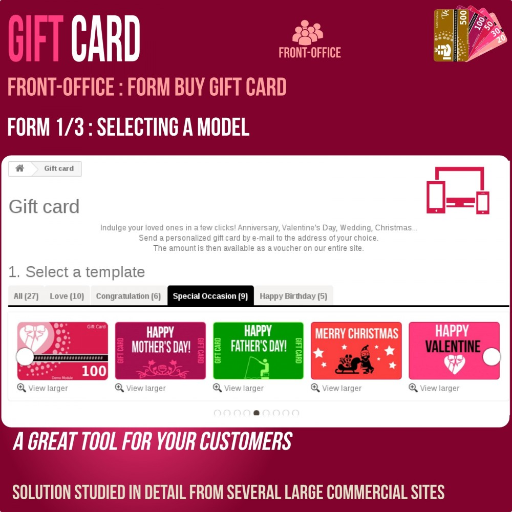 module - Wunschzettel & Geschenkkarte - Gift Card - Advanced solution - 3