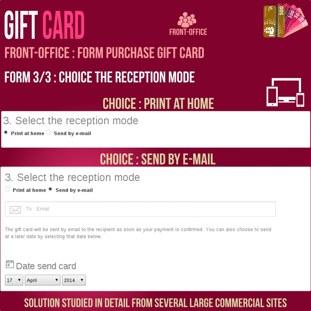module - Wunschzettel & Geschenkkarte - Gift Card - Advanced solution - 5