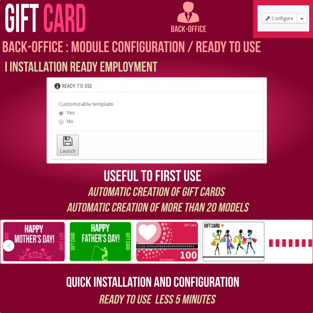 module - Wunschzettel & Geschenkkarte - Gift Card - Advanced solution - 17