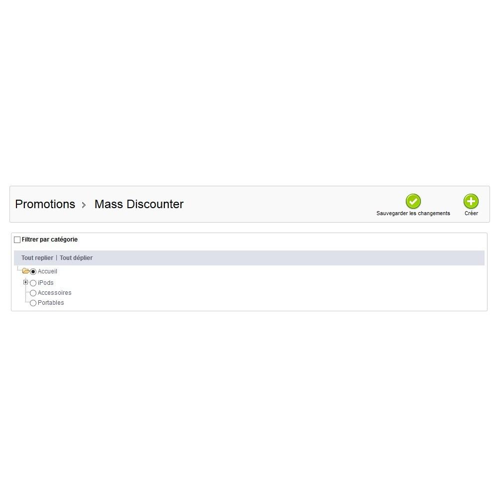 module - Promotions & Cadeaux - Mass Discounter: Gestion de vos promotions en masse - 9