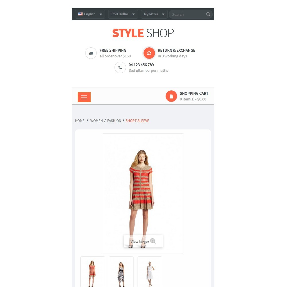 theme - Mode & Chaussures - Leo StyleShop - 9