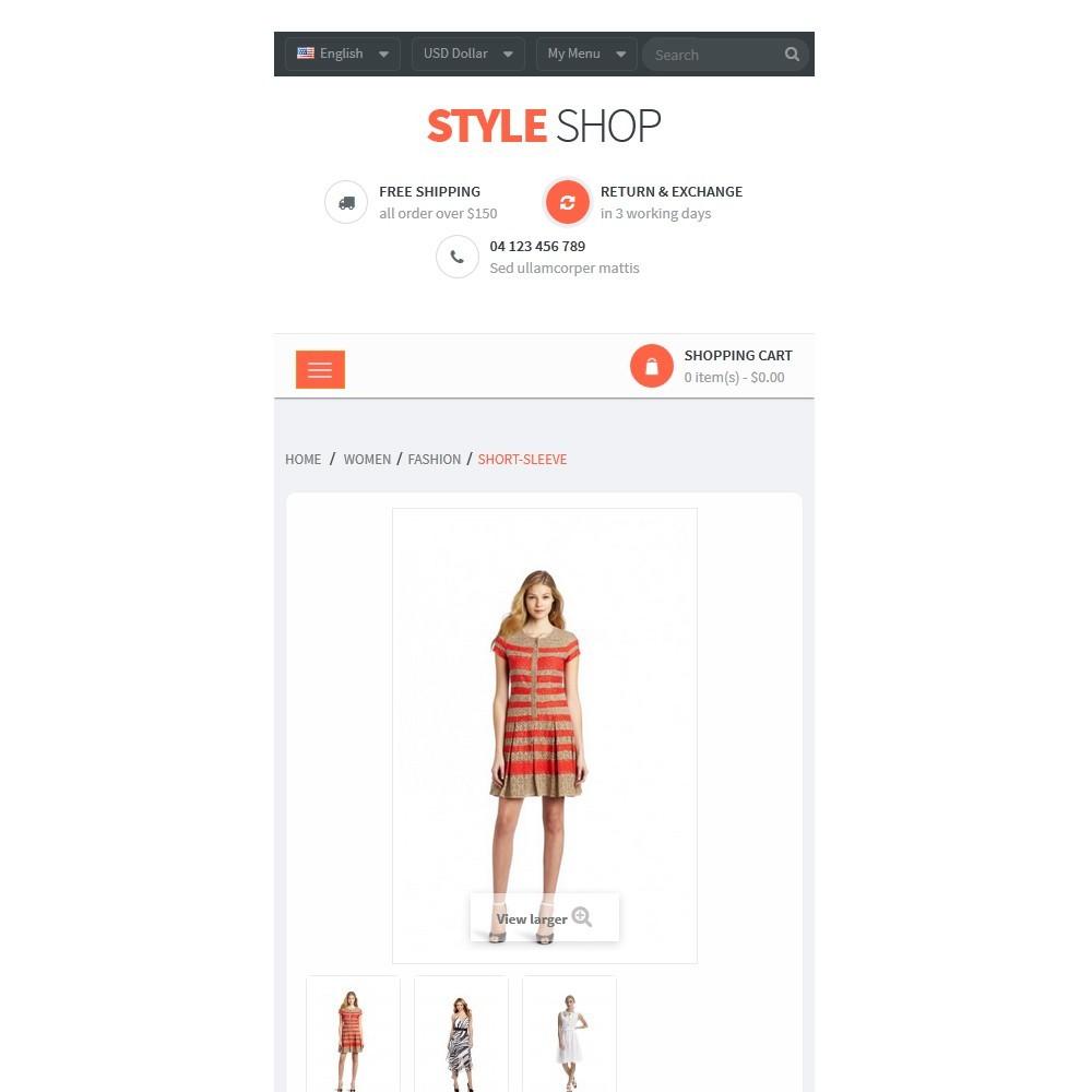 theme - Moda & Calzature - Leo StyleShop - 9
