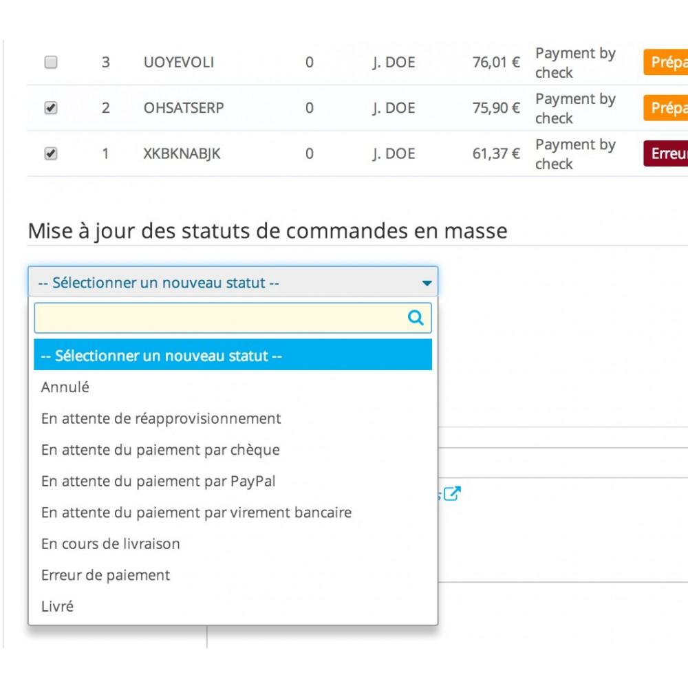module - Quick Eingabe & Massendatenverwaltung - Mass Order Status Update - 7
