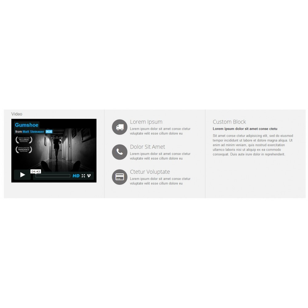 module - Vidéo & Musique - Video Player - 2