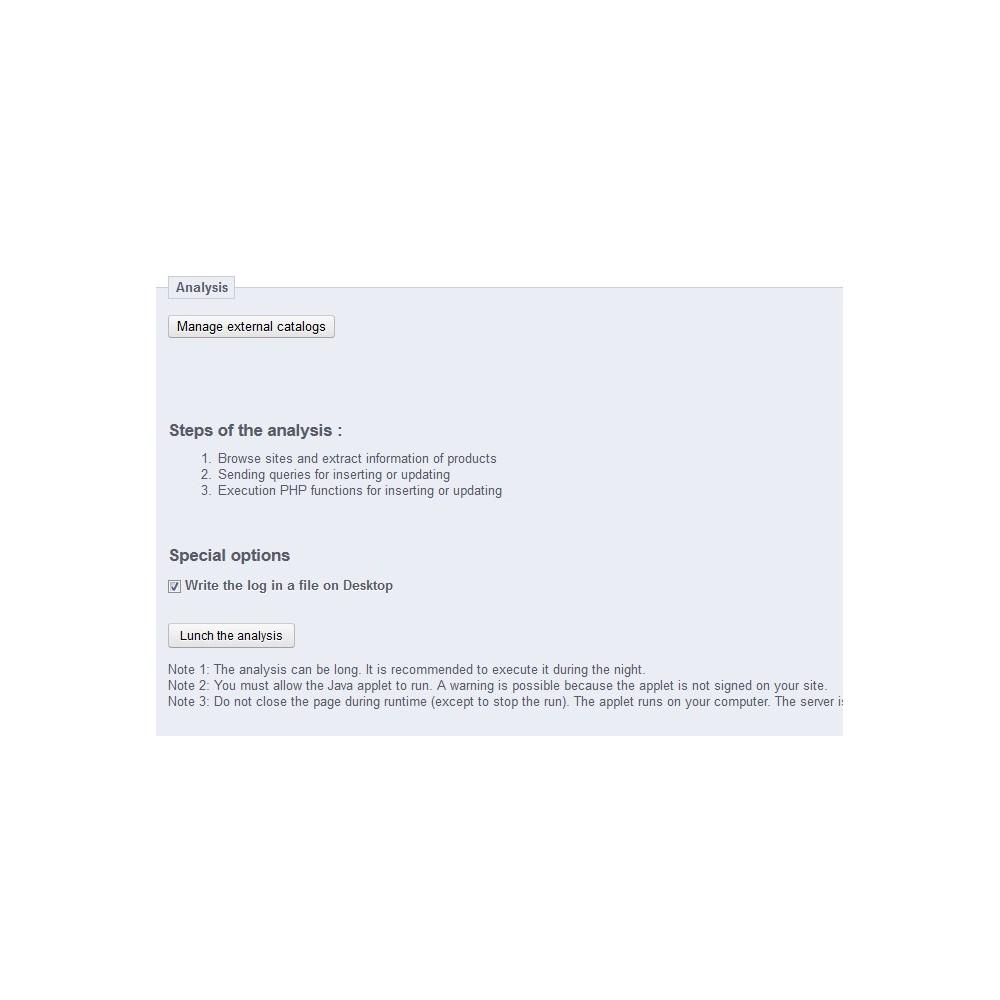 module - Dropshipping - Intelligent Catalog Importer & Manager - 1