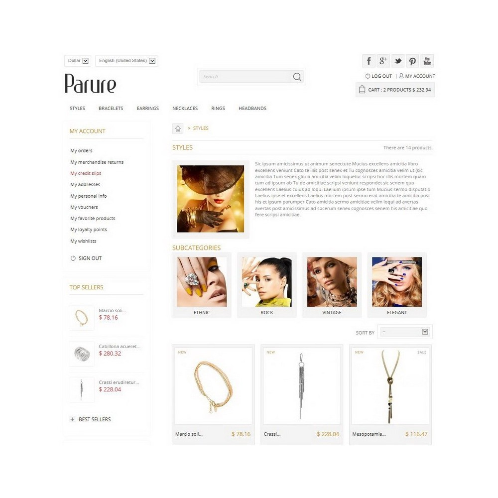 theme - Biżuteria & Akcesoria - Parure - 2